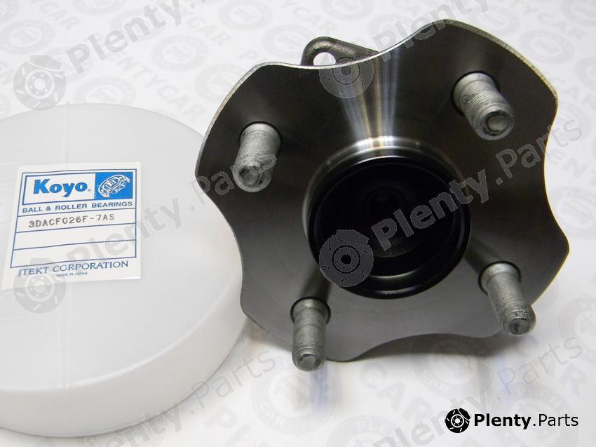 KOYO 3DACF026F-7AS (3DACF026F7AS) Wheel Bearing Kit   Plenty