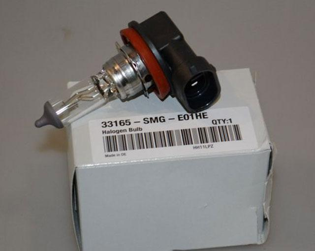 Original HONDA part 33165SMGE01HE Bulb, spotlight
